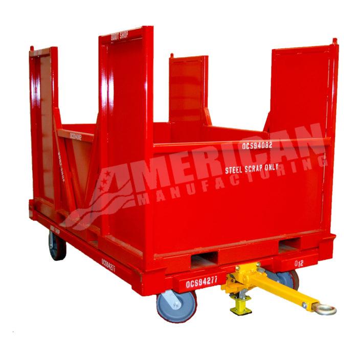 Scrap Cart Container