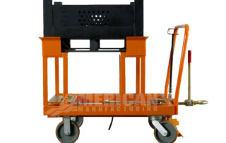 Cart with riser