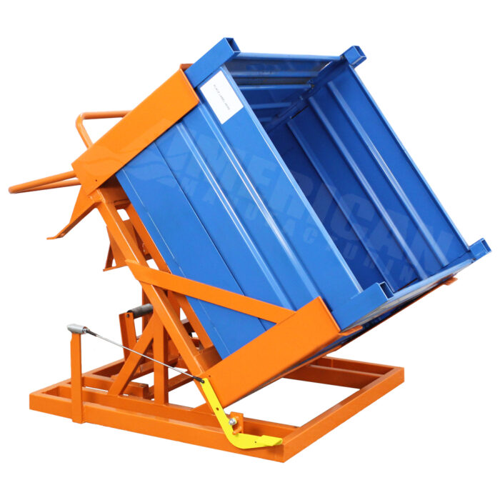 60 degree hydraulic assist tilt table